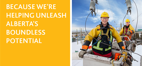 Because we're helping unleash Alberta's boundless potential