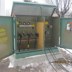A green power box