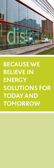 Because we believe in energy solutions for today and tomorrow