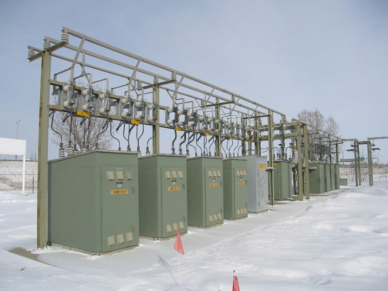 ENMAX No 32 Substation
