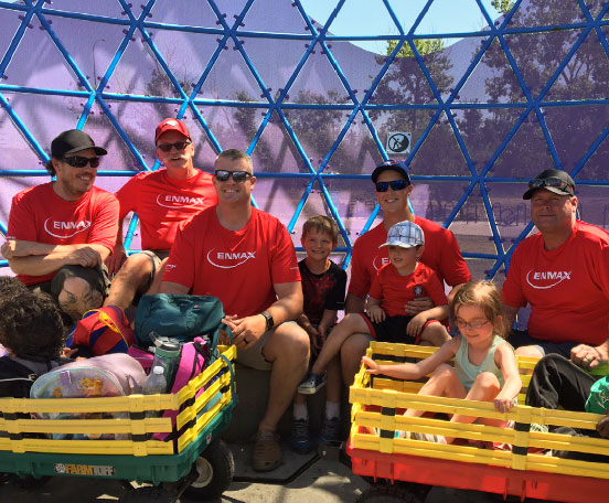 ENMAX supports community
