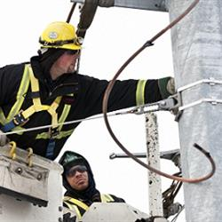 for power crews, safety is priority